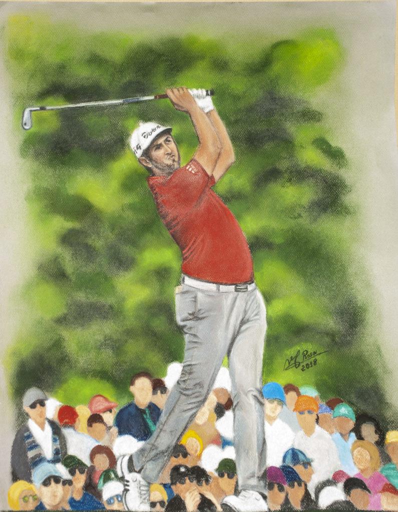 JON RAHM, the world's latest golf genius