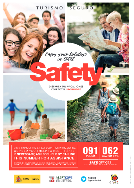 Enjoy your holidays in total safety