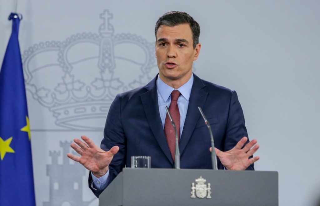A message from the Prime Minister of Spain (English audio)