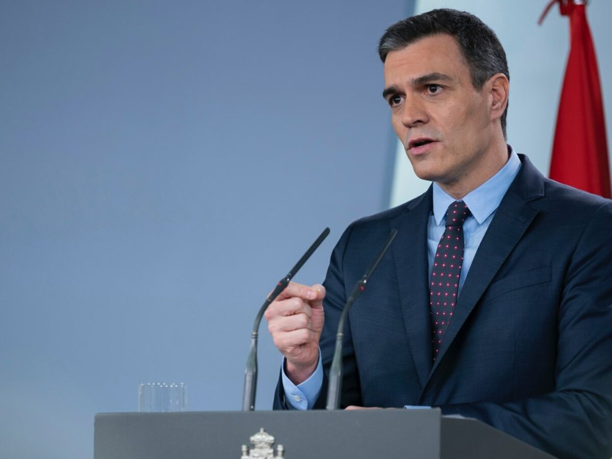 APRIL 12 | STATE OF ALARM | A massage from the Prime Minister of Spain